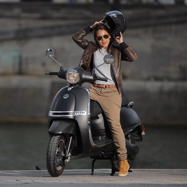 Essayer un scooter électrique