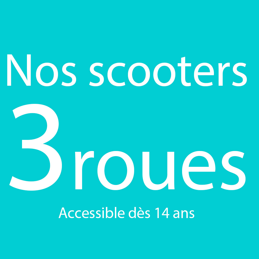 Trois Roues Electrique 125cm3 et 50cm3