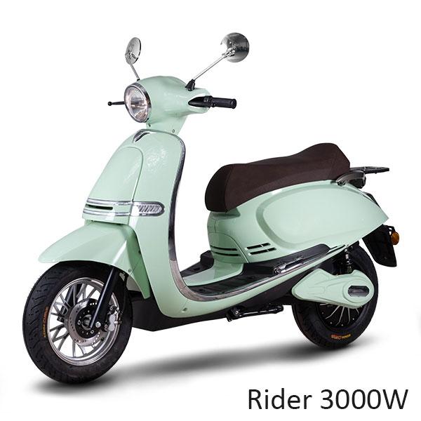 scooters rider 3000W électrique 50 cm3 50cc vespa vintage