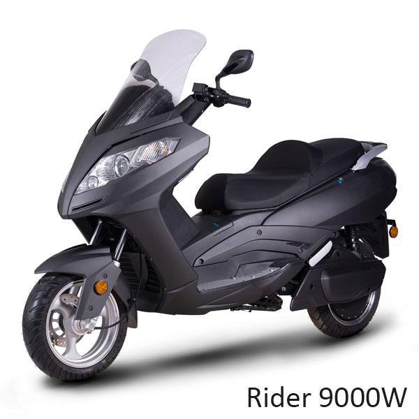 9000W 125cm3 Electrique grand tourisme longue autonomie deux roues