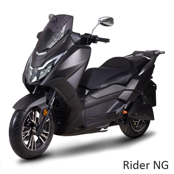 Scooters Rider NG 125cm3 Electrique grand tourisme haut de gamme