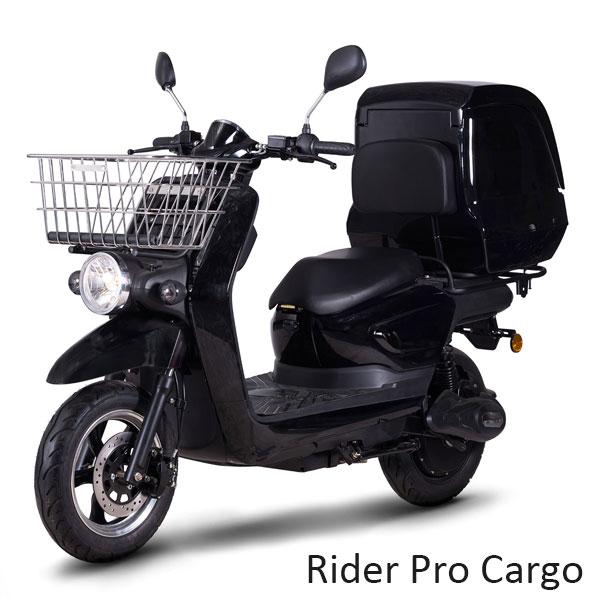 scooter électrique livraison Rider Pro Cargo 125cm3