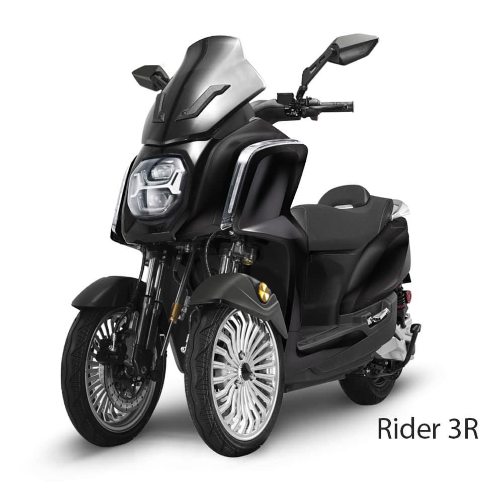 Scooters Rider 3R 50cm3 Trois Roues Electrique