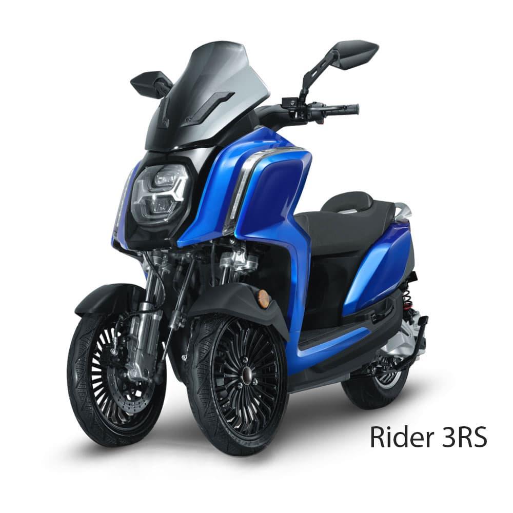 Rider 3RS scooter 3 trois roues stable electrique économique